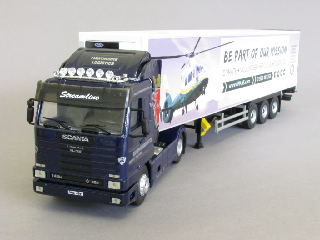 Model Truck and Trailer